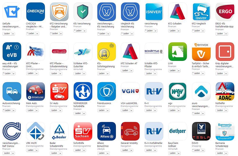 Versicherungs-Apps ohne kreative Lösungen mit Kunden-Nutzen