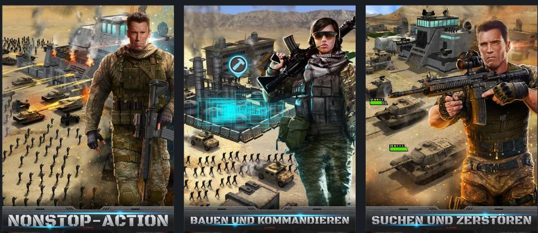 Game of War und Mobile Strike bieten Aufholjagd für Spieler an